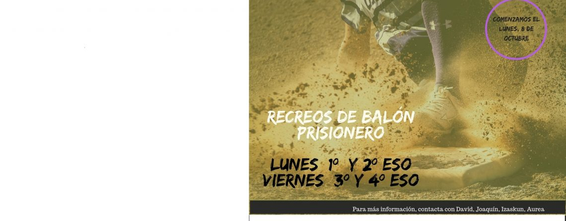 RECREOS DE BALÓN PRISIONERO