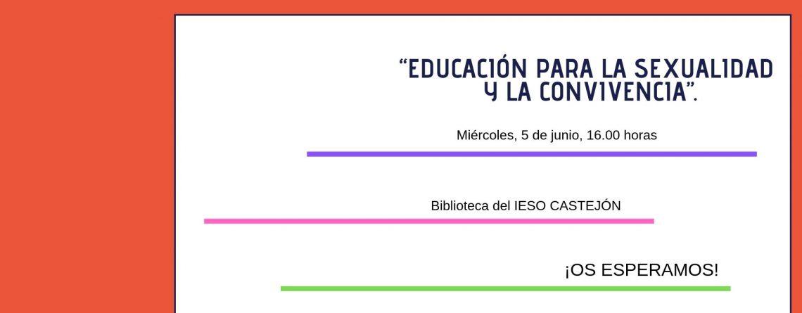 Charlas familias: Educación para la Sexualidad y la Convivencia