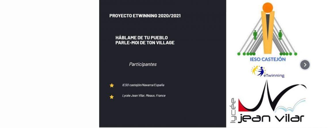 Nuevo Proyecto eTwinning (consulta su contenido)