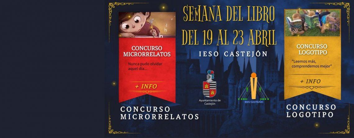 Concursos-Semana del libro IESO Castejón. ¡Tod@s a participar!