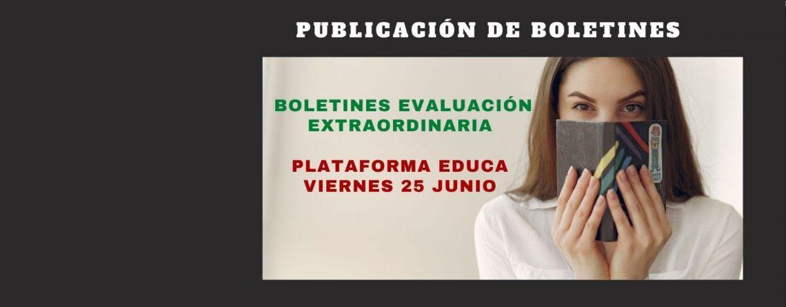 EVALUACIÓN EXTRAORDINARIA 20-21
